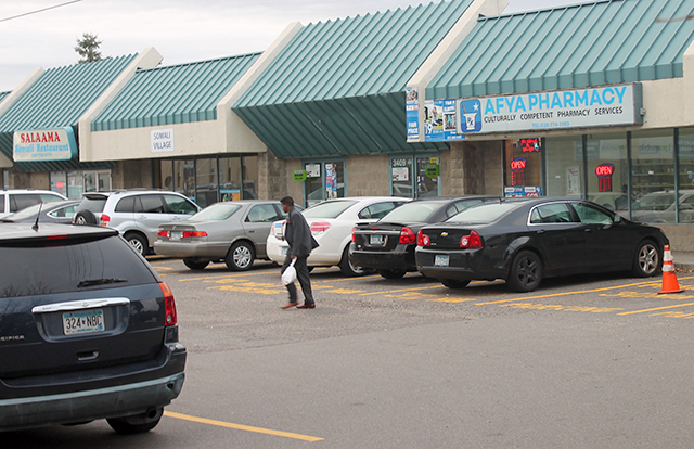St. Cloud's largest Somali-American strip mall