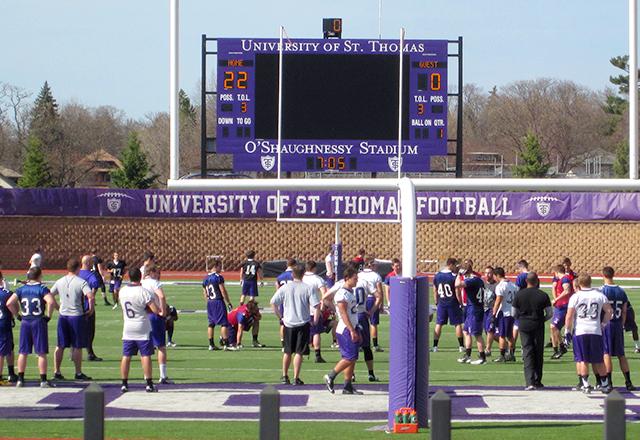 University of St. Thomas football field