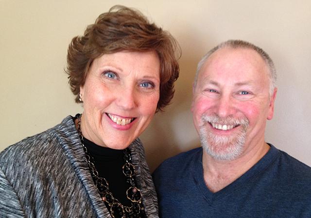 Sue and Mark Courteau