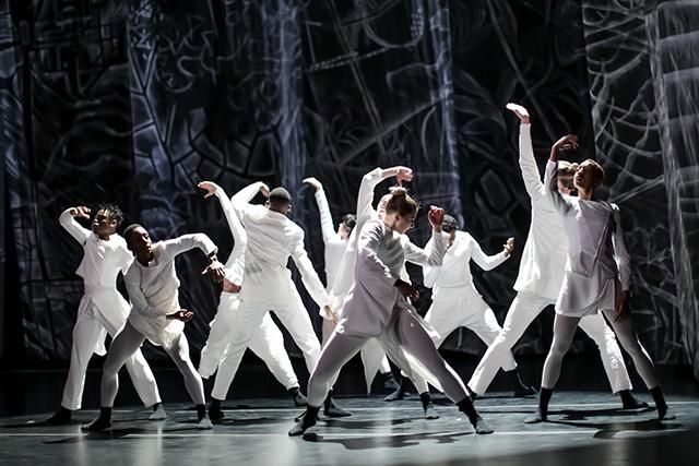 """TU Dance performing """"Hikari."""""""