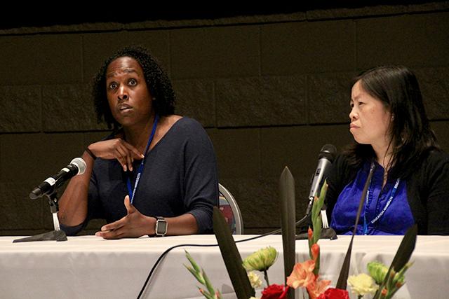 Teresa Stadem and Ong Xiong