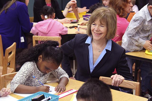 Lt. Gov. Smith visiting Kaposia Education Center
