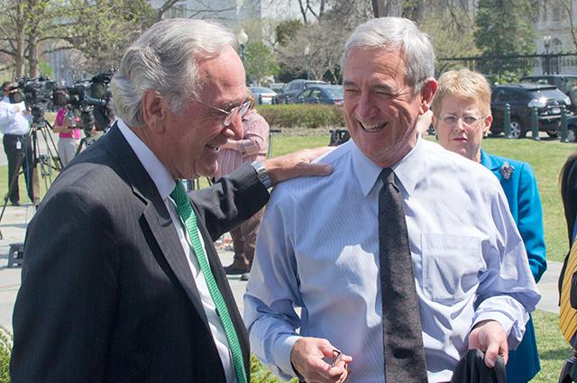 Sen. Tom Harkin and Rep. Rick Nolan