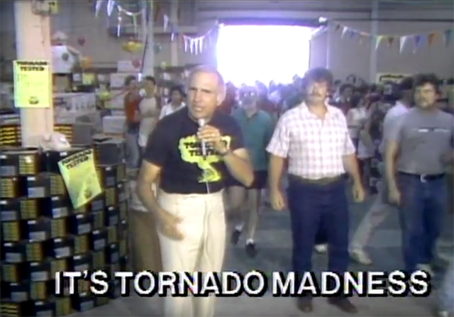 Live from the State Fair, it's TORNADO MADNESS!