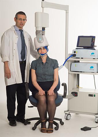 Transcranial magnetic stimulation machine
