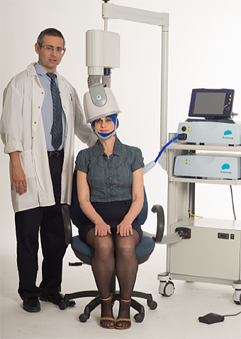 Transcranial magnetic stimulation machine