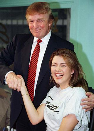 Donald Trump and Alicia Machado