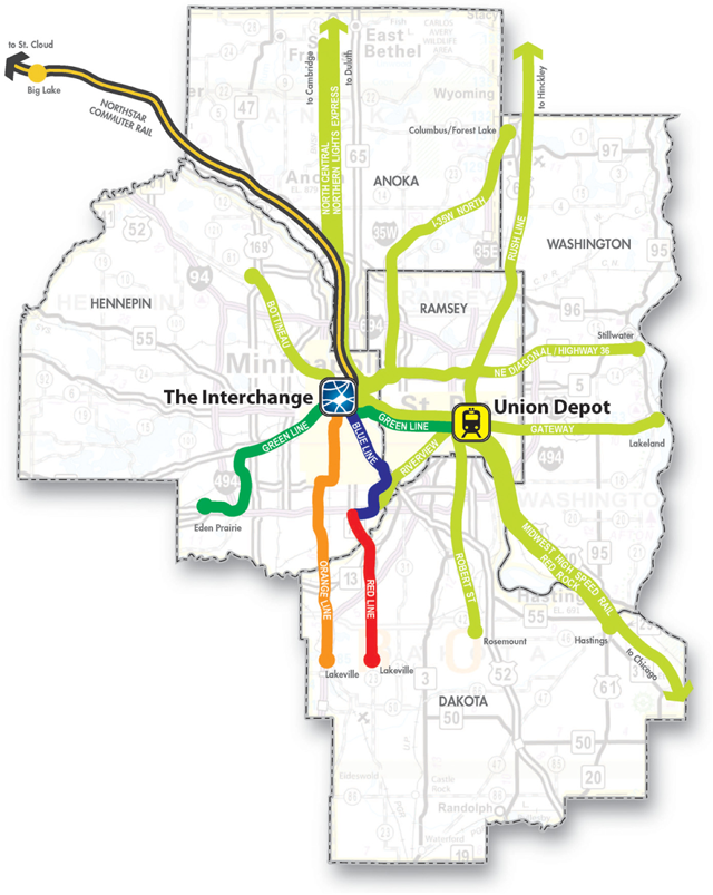Twin Cities Transitway System
