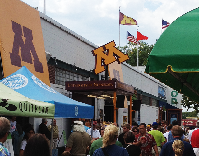 UMN 2012 State Fair booth