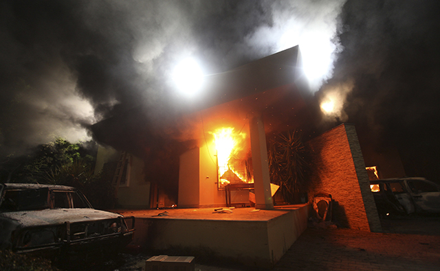 The U.S. Consulate in Benghazi