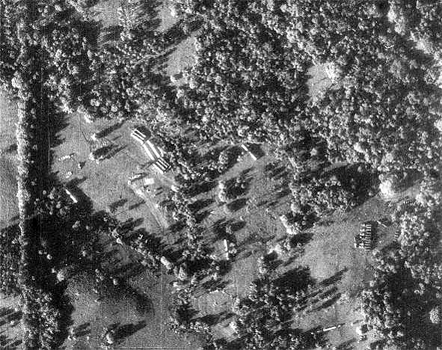 A U-2 reconnaissance photo