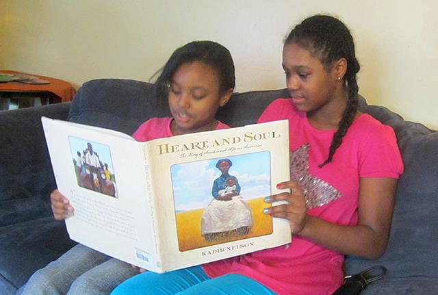 Ulyssa and Kenshell reading