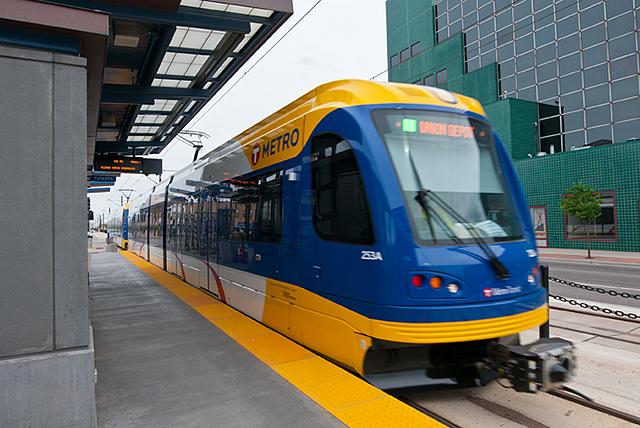 LRT trains