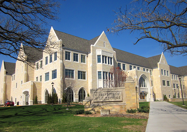 University of St. Thomas is currently exempt from paying property taxes.