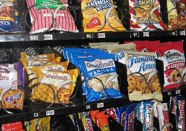 vending machine snacks
