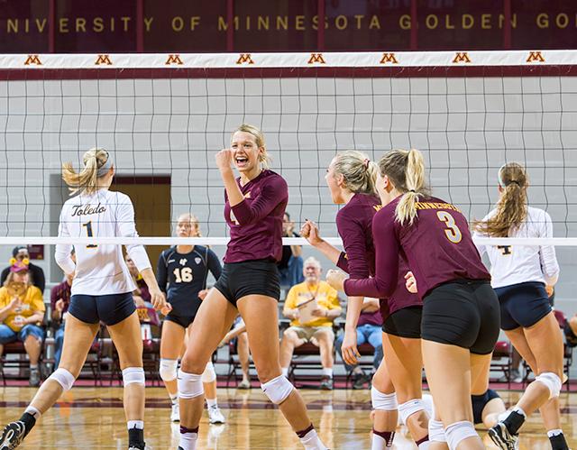 2016 University of Minnesota women's volleyball