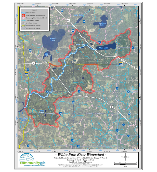White Pine River Watershed