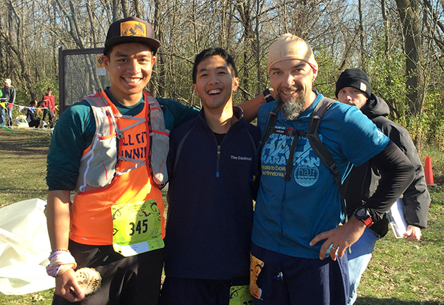 Richy Yin, Daniel Ly and Josh Coval