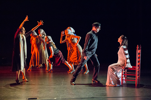 "Zorongo Flamenco Dance Theatre's performance of  ""Garden of Names"""
