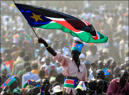 The Republic of South Sudan rang in its status as the world's newest country.