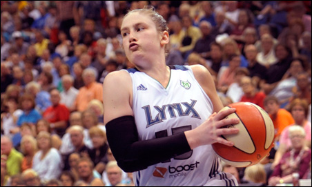 Whalen and the Lynx host the Atlanta Dream on Sunday to start the five-game championship series.