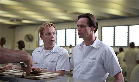"Ewan McGregor and Jim Carrey in a scene from ""I Love You Phillip Morris."""