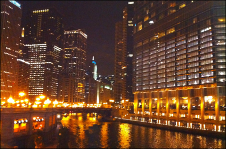 Out-of-towners are awestruck by the beauty and grandeur of Chicago.