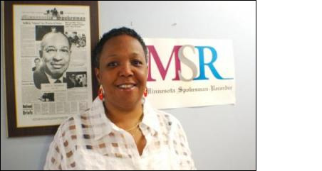 Tracey Williams, president and publisher of the Minnesota Spokesman-Recorder