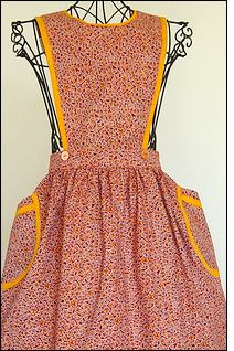 An apron from Mary Jane's Handmades.