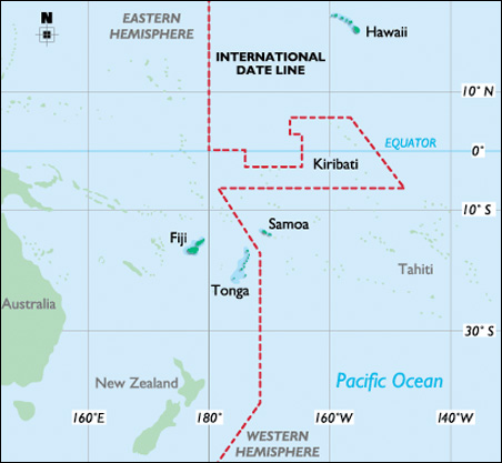 Samoa's current government sought the new dateline change, saying it made good business sense to be on the same calendar page as New Zealand and Australia.