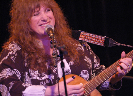 Singer and slide guitarist Ellen McIlwaine has played with John Lee Hooker, Jimi Hendrix and Howlin' Wolf.
