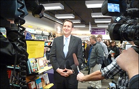 Tim Pawlenty is getting plenty of media attention on his excursions.