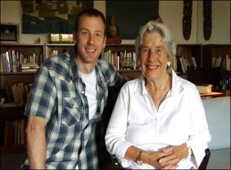Documentary filmmaker Kevin McKeever and activist Marianne Hamilton