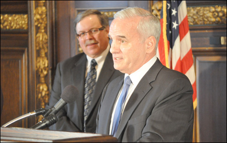 Gov. Dayton appointed Mark Phillips as the Commissioner of the Department of Employment and Economic Development.