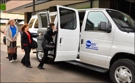In 2010, more than 3,200 registered van- and carpools were in operation, reducing vehicle miles traveled by an estimated 31 million miles.