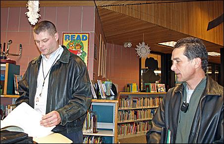 Erik Ennen and Mark Francis