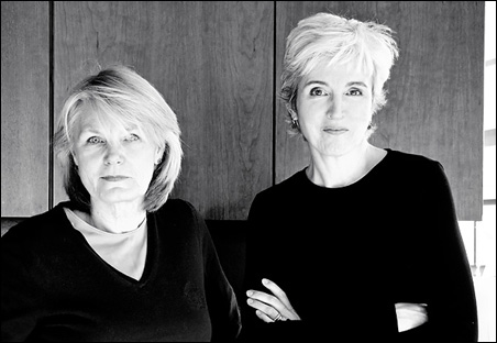 Vickie Abrahamson and Mary Meehan, founders of Iconoculture