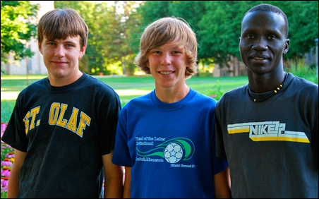 From left to right: Jordan Tyler, Miles Tyler and Matthew Ruon