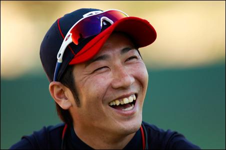 Tsuyoshi Nishioka is getting accustomed to teammates, Twins' ways and media attention.