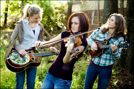 """The Lovell Sisters first garnered national attention in 2005, when they won the National Teen Talent Competition by St. Paul's very own """"A Prairie Home Companion."""""""