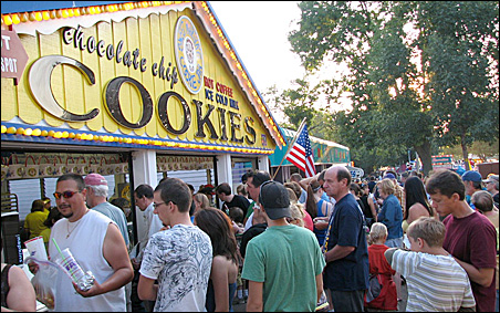 Line for cookies