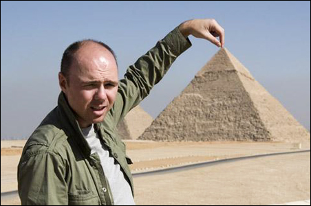 "Karl Pilkington in ""An Idiot Abroad"""