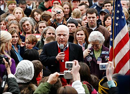 Republican presidential candidate Senator John McCain (R-AZ)