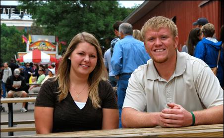Liz Rabbe and Dan Helvig