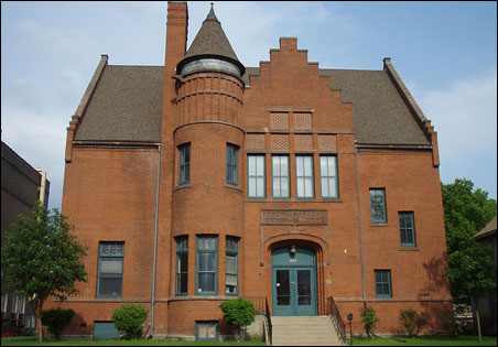 Minneapolis' former North Branch Library, built in 1893, qualified for a 20 percent state historical rehabilitation tax credit.