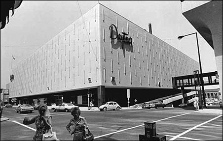 The Dayton's store at Sixth and Wabasha, St. Paul, circa 1975.