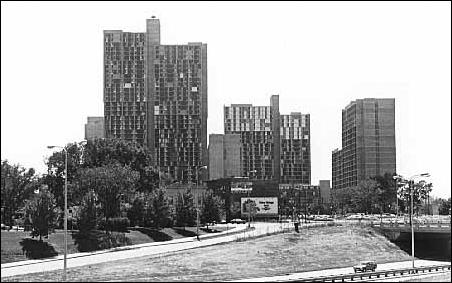 Riverside Plaza circa 1975