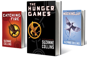 """Suzanne Collins' """"The Hunger Games"""" series"""