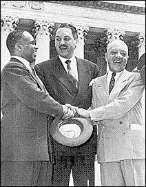 George E.C. Hayes, Thurgood Marshall and James Nabrit