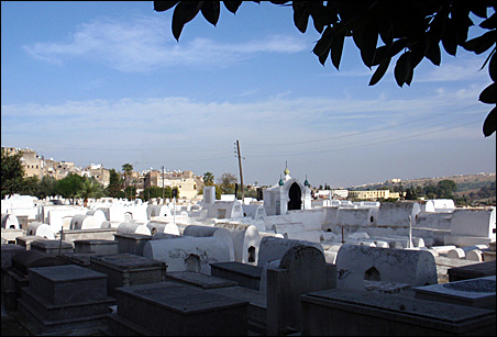 This Hebrew Cemetery in Fez is one of many marks of a longstanding Jewish presence in Morocco.